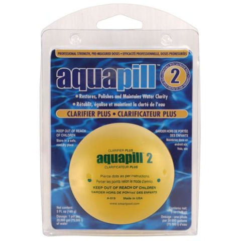 Pool AquaPill 2 Clarifier Plus 1 Piece For Pools Up To 20 000 Gal. Capacity POOL1620 - Pool