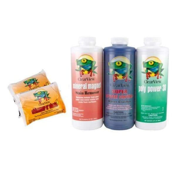 Pool Chemical ClearView Spring Pool Open Kit 15 000 Gallon - Pool