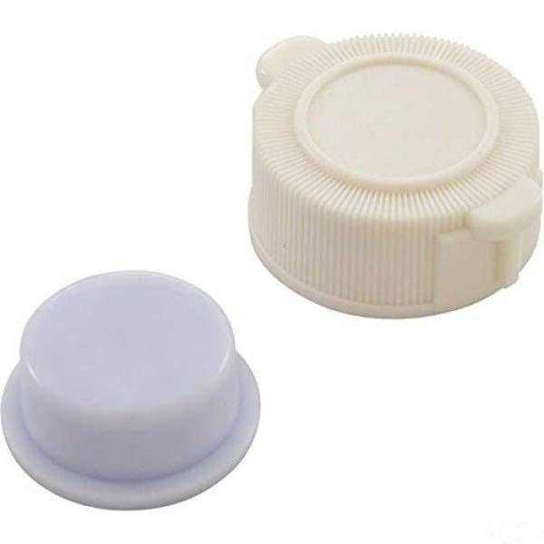 Pool Single Exhaust Valve Cap and Plug Replacement For Intex Pools (2 Pieces) POOL4569 - Pool