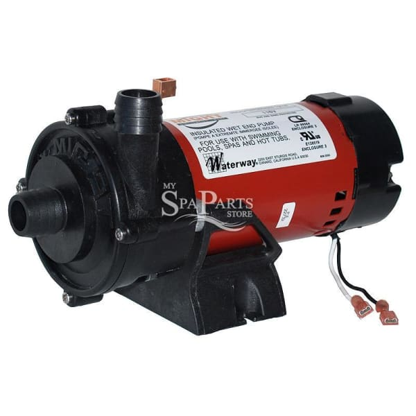 Vita Spa Waterway 1/16 HP 1 Speed 115V Tiny Might Circulating Pump WWP3312610-19 - Hot Tub Parts