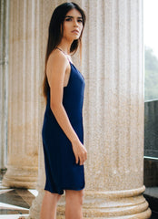 Sylvia Chung Web Slipdress in Navy