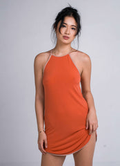 Sylvia Chung Tori Dress in Tangerine
