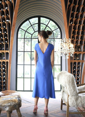 Sylvia Chung Suzanne Dress in Blue