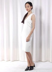 Xhibit Sleeveless Cocktail Dress in White