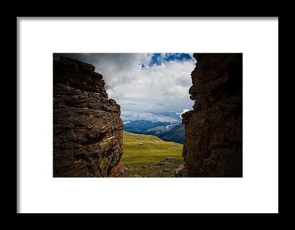 Trail Ridge Road #15 - Framed Print