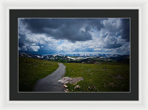 Trail Ridge Road #7 - Framed Print