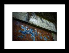 Load image into Gallery viewer, Blue Rust - Framed Print