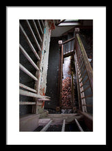 Load image into Gallery viewer, Downwards - Framed Print