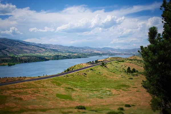 Horsetooth Reservoir #2 - Art Print