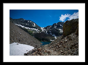Lake Agnes #2 - Framed Print