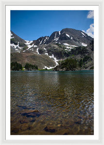Lake Agnes - Framed Print