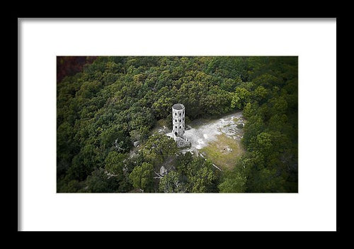 Lynn Woods Tower - Framed Print