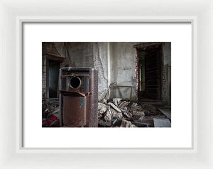 Old Times - Framed Print