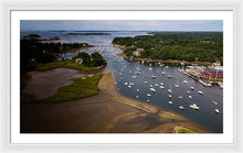 Load image into Gallery viewer, Over Manchester-by-the-sea - Framed Print