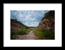 Load image into Gallery viewer, Owl Canyon #2 - Framed Print