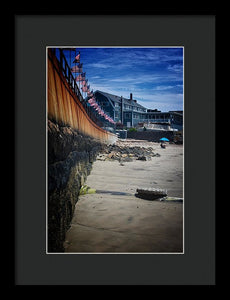 Pavilion Beach - Framed Print