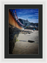 Load image into Gallery viewer, Pavilion Beach - Framed Print
