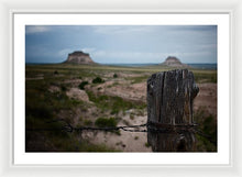 Load image into Gallery viewer, Post Of Pawnee - Framed Print