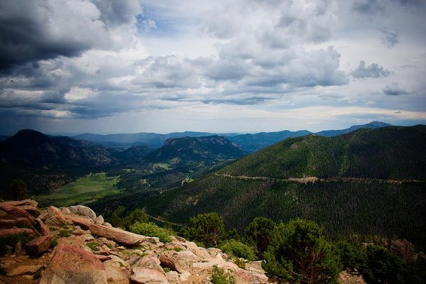 Rmnp Overlook - Art Print