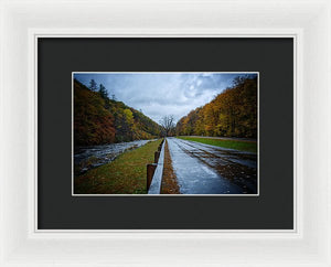 Route 2 Pit Stop #2 - Framed Print