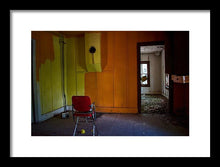 Load image into Gallery viewer, The Orange Room - Framed Print