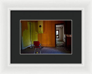 The Orange Room - Framed Print