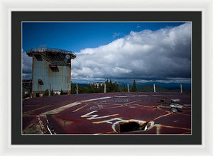 The Radar Towers #2 - Framed Print