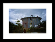 Load image into Gallery viewer, The Radar Towers #6 - Framed Print