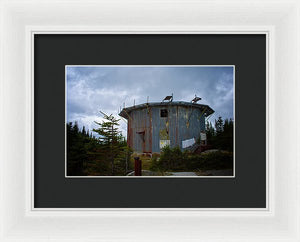 The Radar Towers #6 - Framed Print