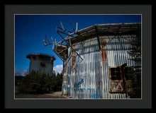 Load image into Gallery viewer, The Radar Towers - Framed Print