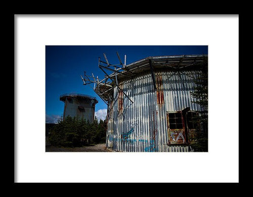 The Radar Towers - Framed Print