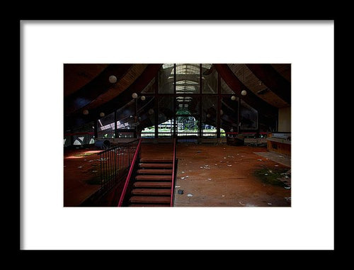 The Rink - Framed Print