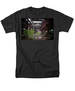 The Train Station - Men's T-Shirt  (Regular Fit)