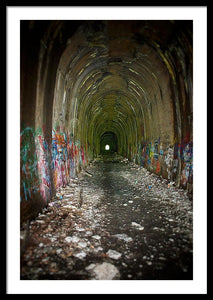 The Tunnel - Framed Print