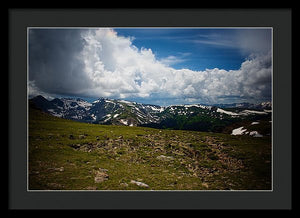 Trail Ridge Road #16 - Framed Print
