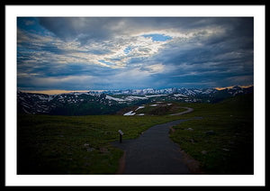 Trail Ridge Road #6 - Framed Print