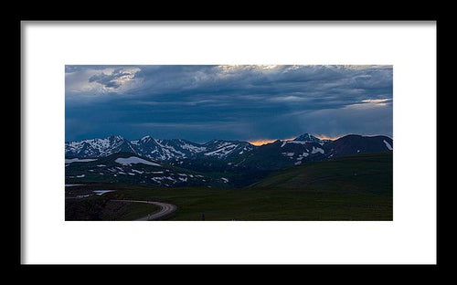 Trail Ridge Road #8 - Framed Print