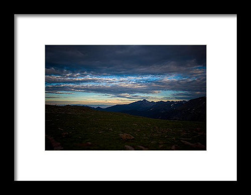 Trail Ridge Road  - Framed Print