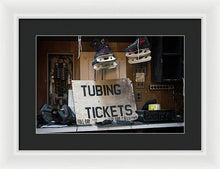 Load image into Gallery viewer, Tubing Tickets - Framed Print