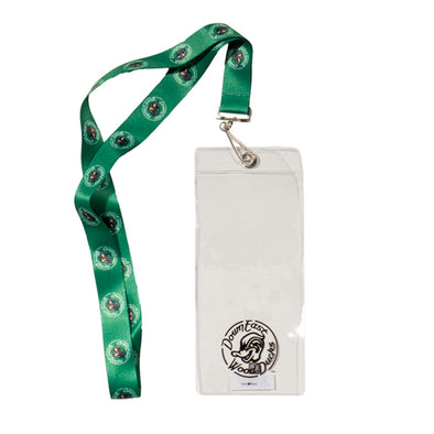 Wood Ducks Ticket Holder Lanyard