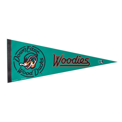 "Green Wood Ducks ""Woodies"" Pennant"