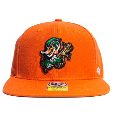 '47 Brand Wood Ducks Orange Kids Cap