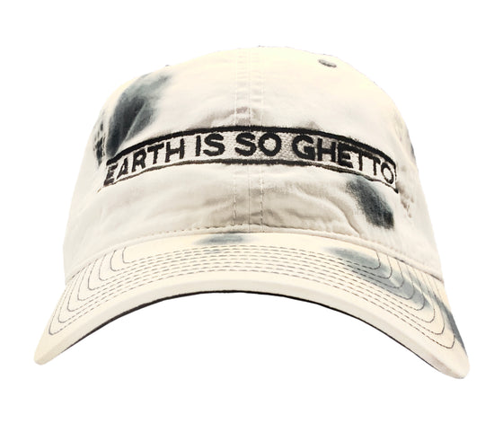 """Earth Is So Ghetto"" Tie-Dye Dad Hat"