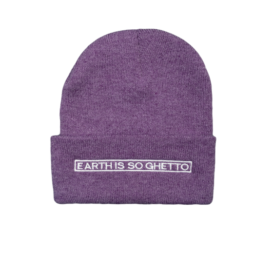 """Earth Is So Ghetto"" Beanie"