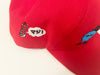 Alien Snapback Cap (RED)