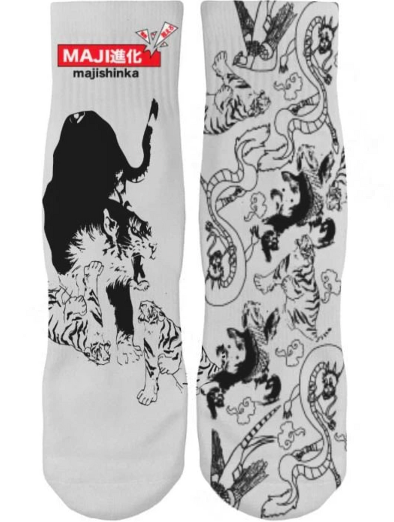 Tiger Tattoo Ankle Socks (PRE-ORDER)