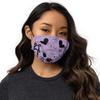 "All-Over Print ""Don't Cry Maji Kyun"" Face Mask (lavender)"