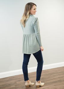 Paulina Puff Sleeve Tunic Sweater | Sisterhood Style