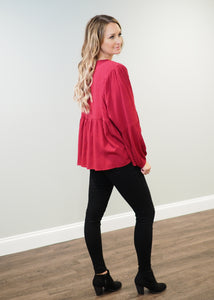 Ruby Swiss Dot Blouse | Sisterhood Style