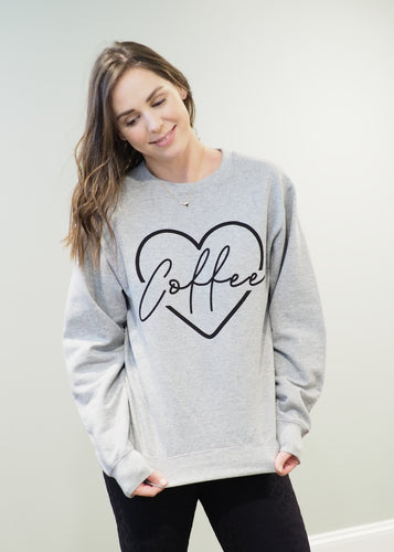 Mama Hearts Coffee Cozy Sweatshirt | Sisterhood Style